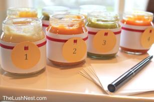 Baby Food Guessing Game